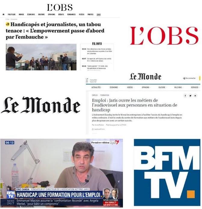 L'Obs, Le Monde Et BFM TV à La Rencontre De La Promo JARIS 2019 !
