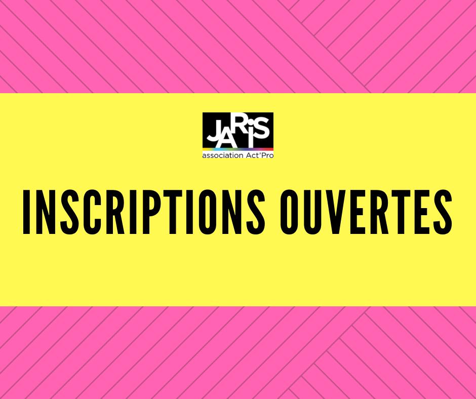 Les Inscription Pour JARIS 2020 Sont Ouvertes !